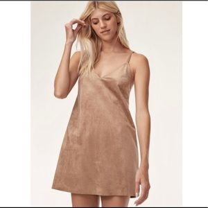 Aritzia Tan Vivienne Dress
